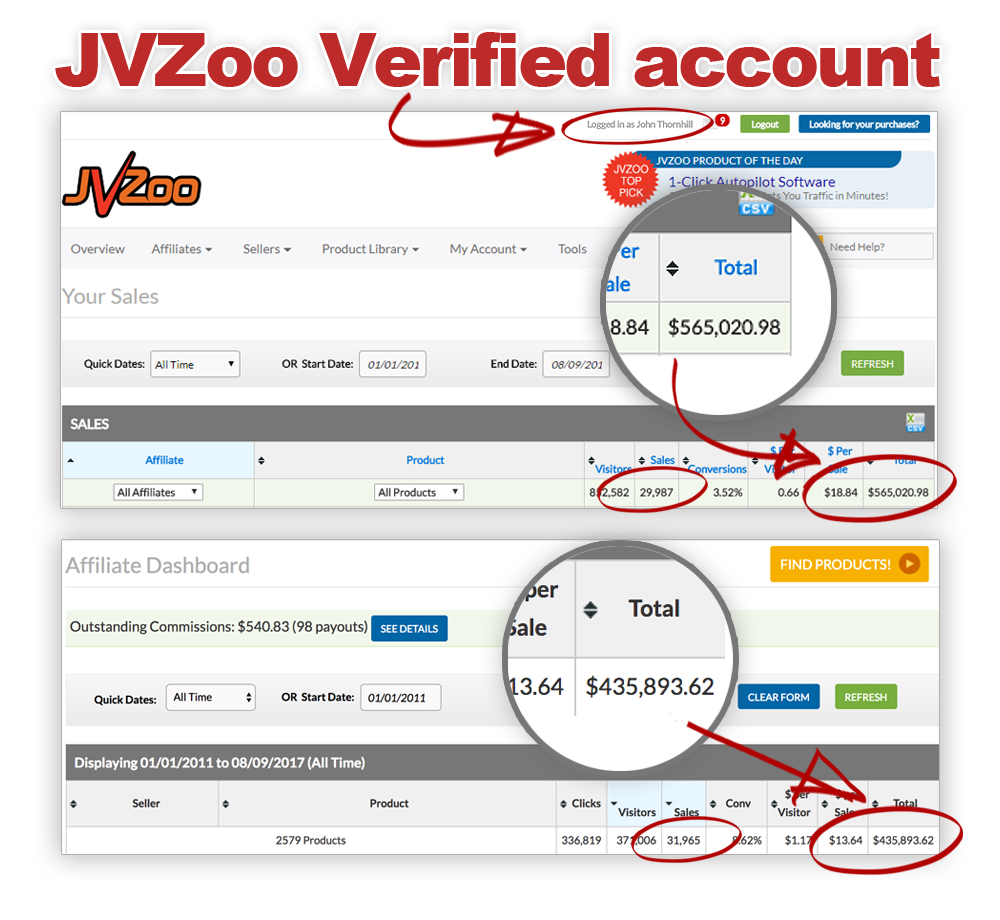 The jvzoo blueprint webinar with john thornhill 100091460 in sales on jvzoo in record time malvernweather